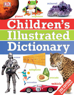 Cover for Children's Illustrated Dictionary