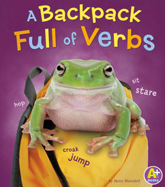 Cover for A Backpack Full of Verbs