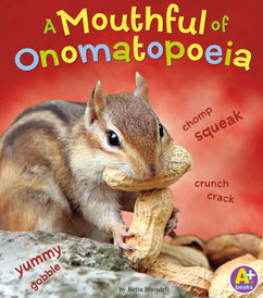 Cover for A Mouthful of Onomatopoeia