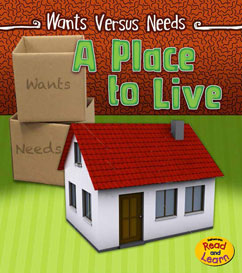 Cover for A Place to Live