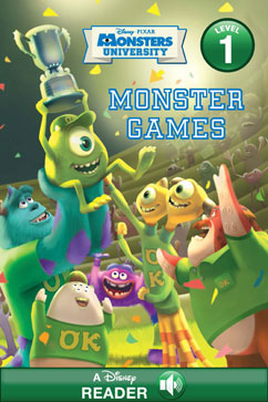 Cover for Monster Games