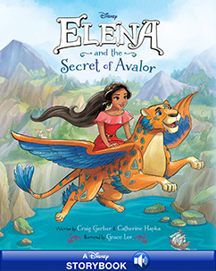 Cover for Elena and the Secret of Avalor