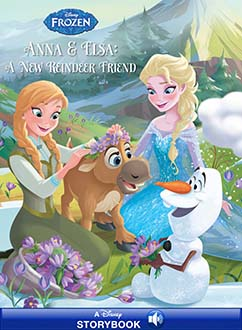 Cover for Anna & Elsa: A New Reindeer Friend