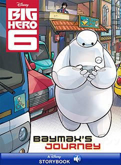 Cover for Baymax's Journey