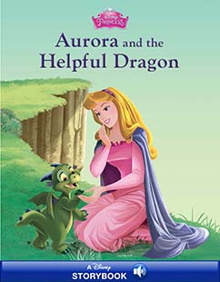 Cover for Aurora and the Helpful Dragon