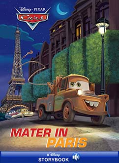 Cover for Mater in Paris