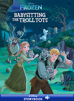 Cover for Anna & Elsa: Babysitting the Troll Tots