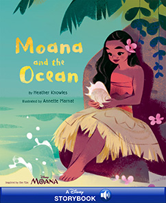 Cover for Moana and the Ocean