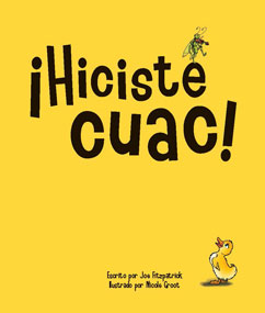 Cover for ¡Hiciste cuac!