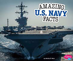 Cover for Amazing U.S. Navy Facts