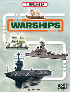 Cover for A Timeline of Warships
