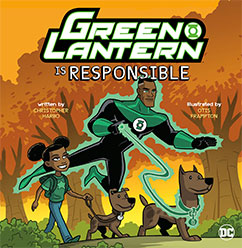 Green Lantern is Repsonsible