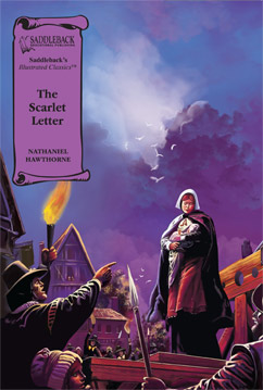 Cover for The Scarlet Letter