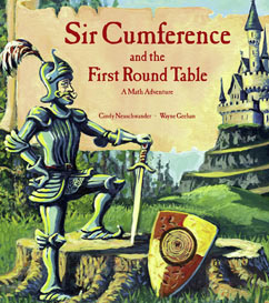 Cover for Sir Cumference and the First Round Table