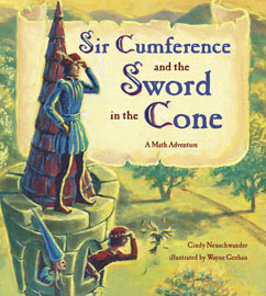 Cover for Sir Cumference and the Sword in the Cone