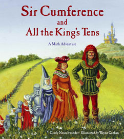 Cover for Sir Cumference  and All the King's Tens