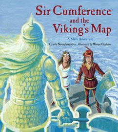 Cover for Sir Cumference and the Viking's Map