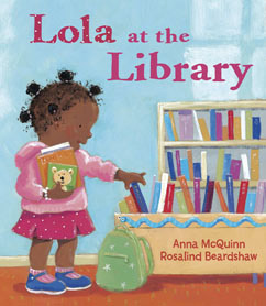 Cover for Lola at the Library