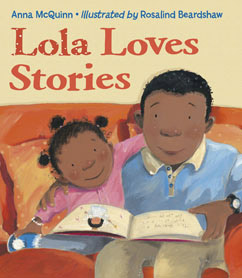Cover for Lola Loves Stories