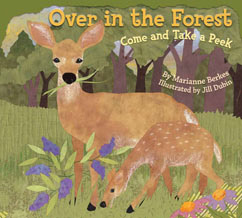 Cover for Over in the Forest