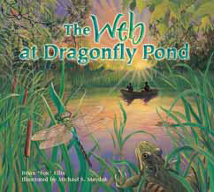 Cover for The Web at Dragonfly Pond