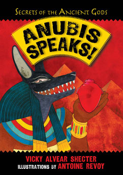 Cover for Anubis Speaks