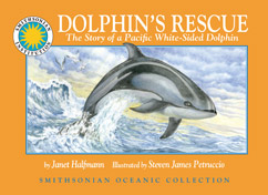Cover for The Story of a Pacific White-Sided Dolphin