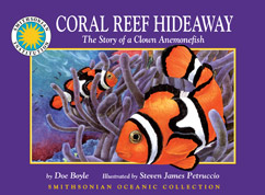 Cover for The Story of a Clown Anemonefish