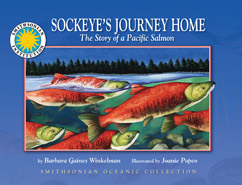 Cover for The Story of a Pacific Salmon