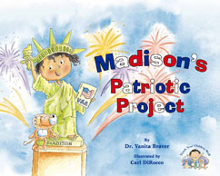 Cover for Madison's Patriotic Project