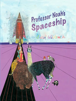 Cover for Professor Noah's Spaceship