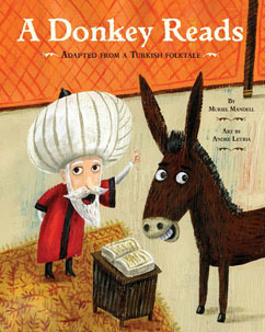 Cover for A Donkey Reads