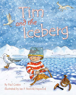 Cover for Tim and the Iceberg