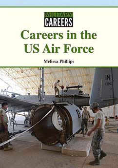 Cover for Careers in the US Air Force