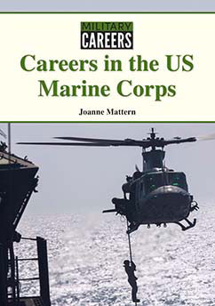Cover for Careers in the US Marine Corps