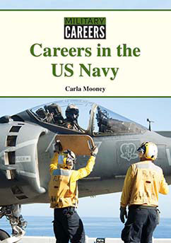 Cover for Careers in the US Navy