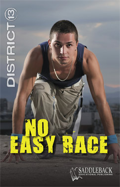 Cover for No Easy Race