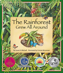 Cover for Rainforest Grew All Around, The