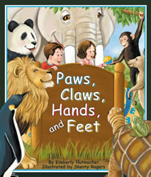Cover for Paws, Claws, Hands, and Feet