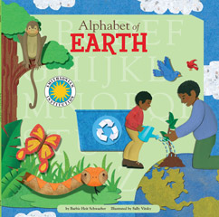 Cover for Alphabet of Earth