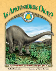 Cover for Is Apatosaurus Okay?