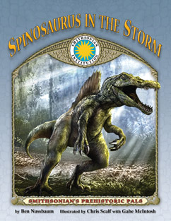 Cover for Spinosaurus In The Storm