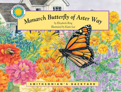 Cover for Monarch Butterfly of Aster Way
