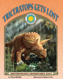 Cover for Triceratops Gets Lost
