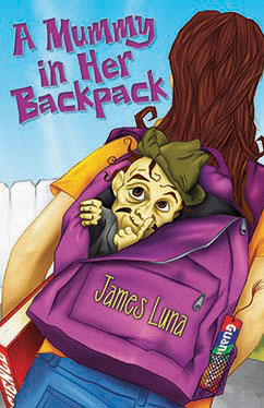 Cover for A Mummy in Her Backpack