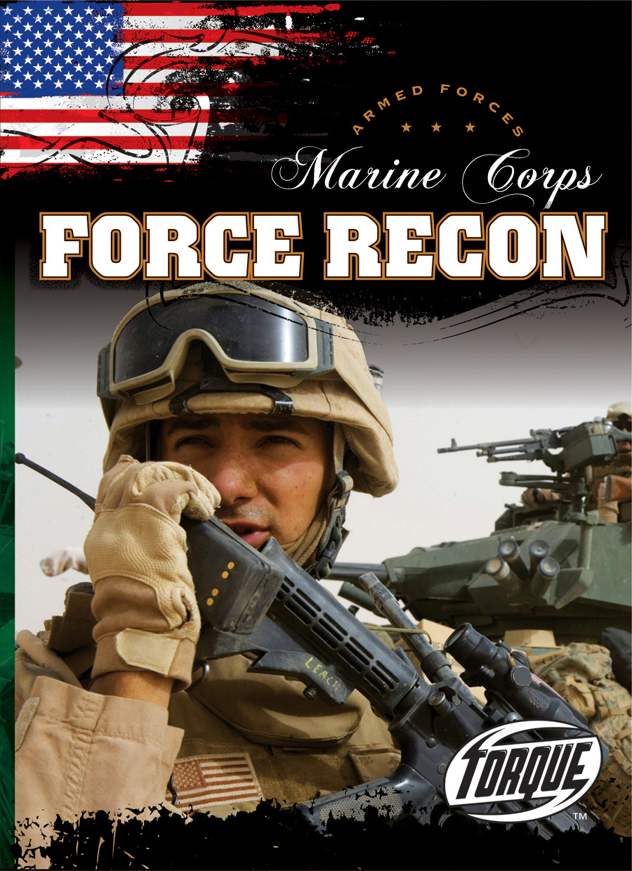 Cover for Marine Corps Force Recon