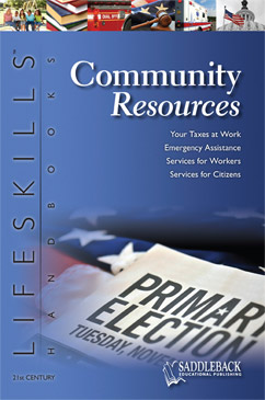 Cover for Community Resources Handbook