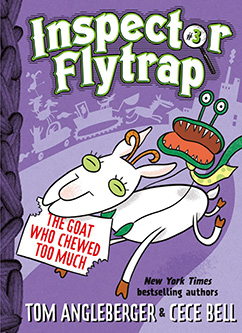 Cover for Inspector Flytrap in the Goat Who Chewed Too Much (Book #3)