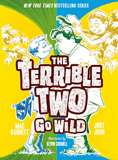Cover for The Terrible Two Go Wild