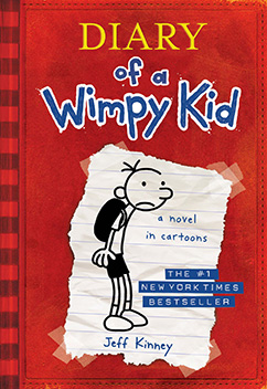 Cover for Diary of a Wimpy Kid (Diary of a Wimpy Kid #1)